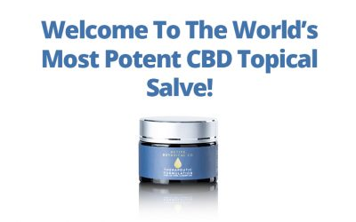 New Product: 2,500mg Industry Leading Topical Salve!